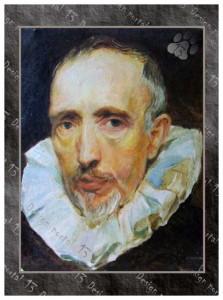 Чернуха Ю.Ф. Портрет Ван дер Гейса.