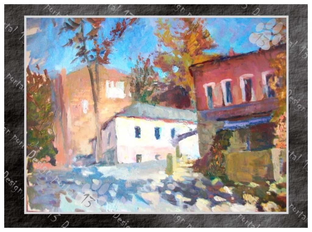 Чернуха Ю.Ф. Осень в старом городе