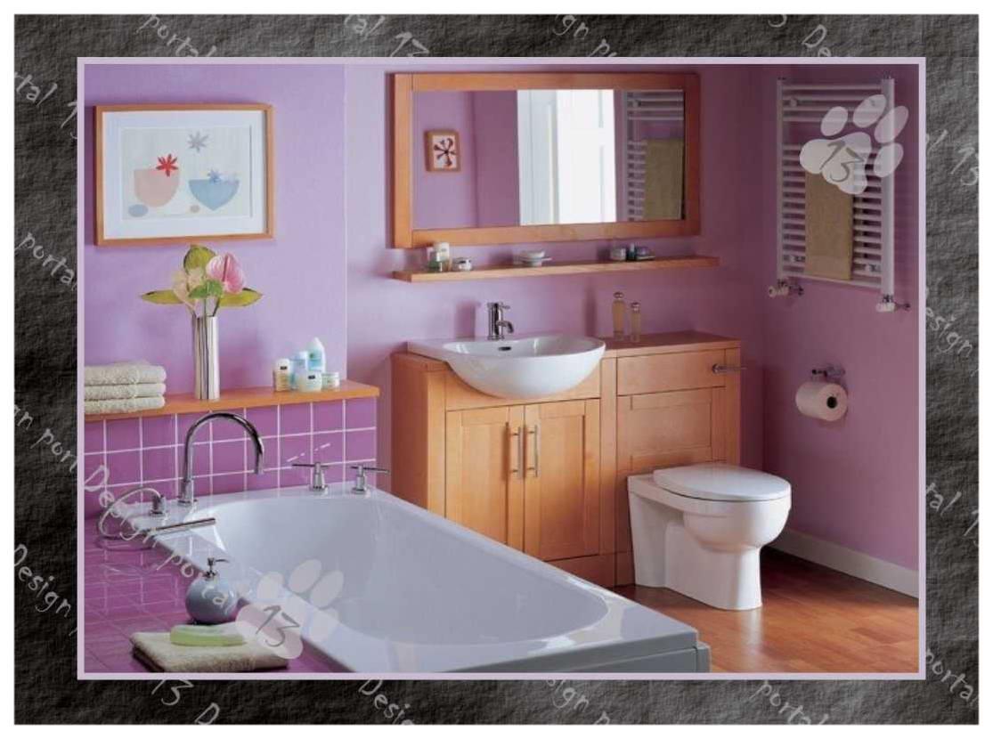 Окраска стен в ванной своими руками