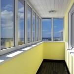 Внутренняя облицовка балкона