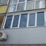Варианты остекления балконов и лоджий.
