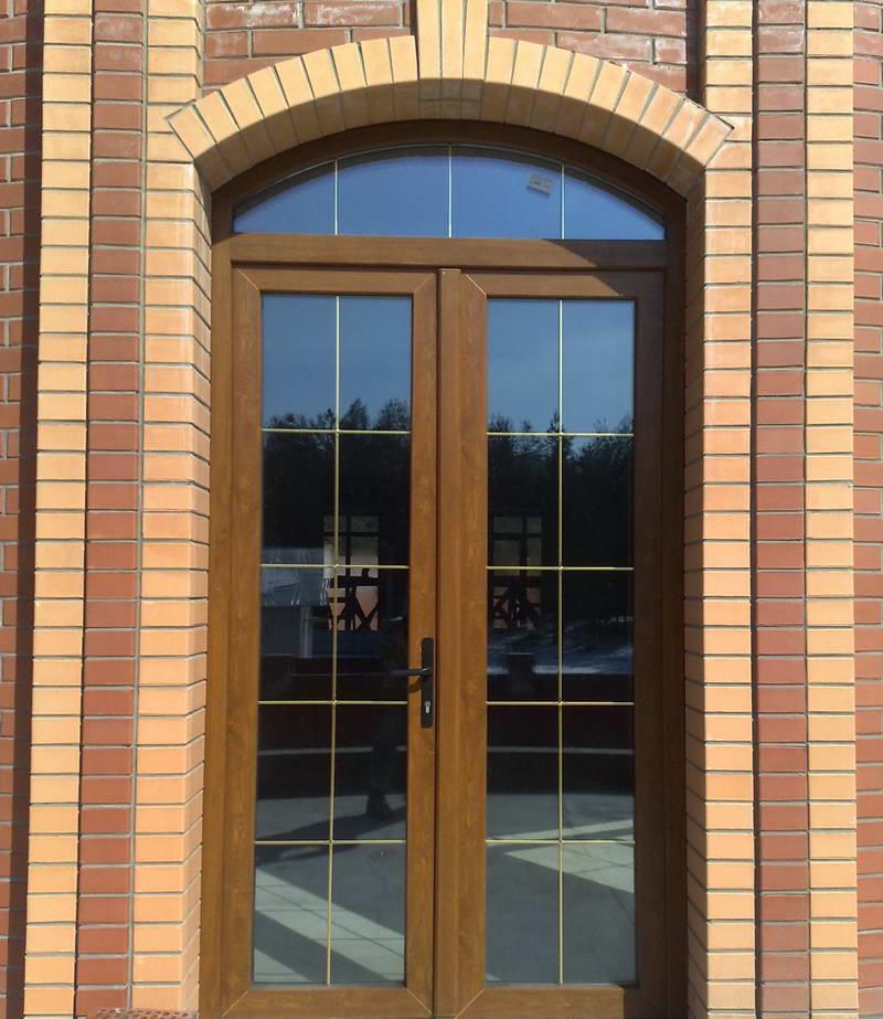 фасад входной двери для дома