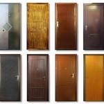 Каталог базовых моделей входных металлических дверей